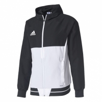 Bluza de trening adidas TIRO 17 negru and alb BQ2776 barbati teamwear adidas teamwear