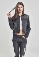 Jacheta Denim pentru Femei negru-washed Urban Classics