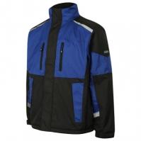 Jacheta Goodyear - WORKWEAR impermeabil cu captuseala - negru/ROYAL - negru albastru
