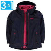 Jacheta Jack Wolfskin Iceland pentru copii
