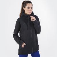 Jacheta Joma cu gluga Spring negru pentru Femei