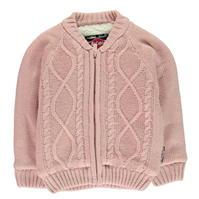 Jacheta Lee Cooper cu captuseala tricot pentru fete pentru Bebelusi