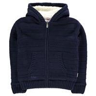 Jacheta Lee Cooper cu dungi cu captuseala tricot pentru baietei