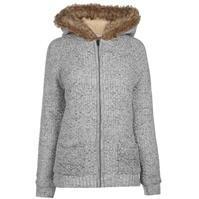 Jacheta Lee Cooper cu gluga cu fermoar tricot pentru Femei