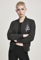 Jacheta Linkin Park Bomber pentru Femei negru Merchcode