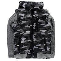 Jacheta No Fear tricot Sleeve pentru baietei