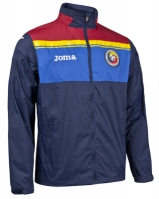 Jacheta ploaie Joma Training Fa Romania albastru