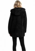 Jacheta pufoasa Sherpa pentru Femei negru Urban Classics
