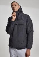 Jacheta Pulover cu guler inalt negru Urban Classics