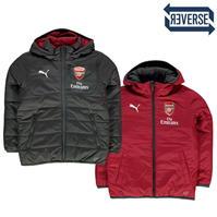 Jacheta Puma Arsenal cu doua fete pentru baietei