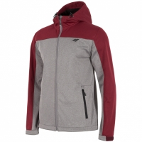 Jacheta Softshell 4F H4L18 SFM002 gri heather