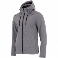 Jacheta barbati softshell 4F H4L18 SFM003 gri heather
