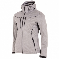 Jacheta Softshell 4F H4L18 SFM005 gri heather barbati