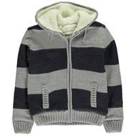 Jacheta SoulCal cu dungi tricot pentru baietei