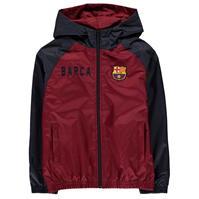 Jacheta Source Lab FC Barcelona Shower pentru baietei