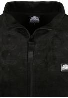 Jacheta Southpole AOP Velour negru
