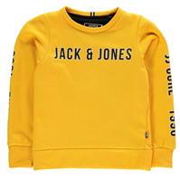 Bluza sport Jack and Jones cu imprimeu mare pentru copii