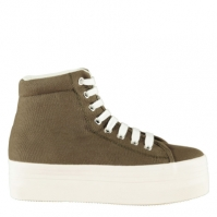 Jeffrey Campbell Play Canvas Platform Shoes