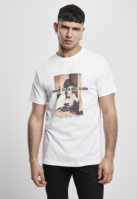 Jocuri Tricou Over and Over alb Mister Tee