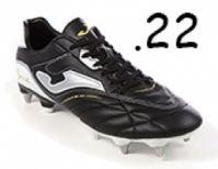 Ghete de fotbal Joma Aguila 501 negru 22 Stud