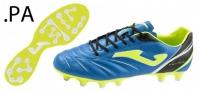 Ghete de fotbal Joma Aguila 604 bleumarin-albastru Artifgrass