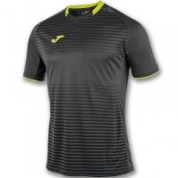 Tricouri Joma T- Galaxy negru-galben cu maneca scurta