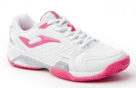 Adidasi tenis pentru copii Joma Match 513 alb-roz