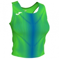 Joma Olimpia Top Fluor verde-royal