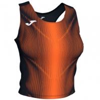 Joma Olimpia Top negru-portocaliu