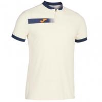 Joma Polo Torneo III alb Crude-bleumarin inchis cu maneca scurta