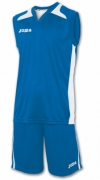 Joma Set Cancha Royal Jersey+short
