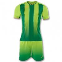 Set fotbal Joma Pro-liga verde cu maneca scurta