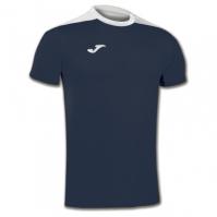 Mergi la Tricouri sport Joma T- Spike bleumarin-alb cu maneca scurta