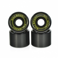 Set 4 roti plastic SMJ 60x45mm / negru