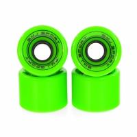 Set 4 roti plastic SMJ 60x45mm / verde