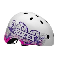 Casca ROCES TATTOO AGGRESSIVE alb / violet / 301418 01 femei