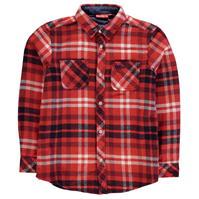 Kickers cu Maneca Lunga Flannel Shirt pentru baietei