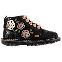 Kickers Nori din piele Shoes pentru Bebelusi