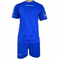 Set fotbal Givova Kit MC albastru