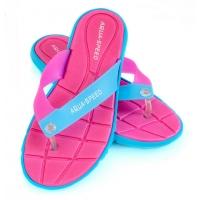 Slapi piscina AQUA-SPEED BALI roz / albastru 03/479 femei