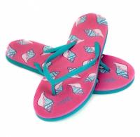 Slapi piscina AQUA-SPEED NAPOLI roz / albastru 03 femei