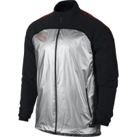 Jacheta barbati Nike Strike Woven Elite II silver-negru 714970 095