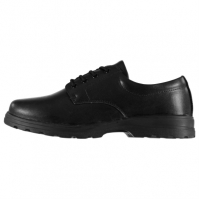 Pantofi Lee Cooper din piele Derby Juniors