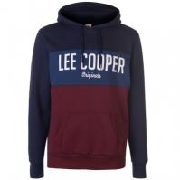 Hanorac Lee Cooper cu imprimeu mare pentru Barbati
