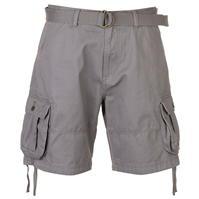Pantaloni scurti cargo cu curea Lee Cooper pentru Barbati