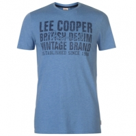 Tricou cu imprimeu Lee Cooper Denim Co