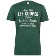 Tricou cu imprimeu Lee Cooper Cooper