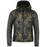 Jacheta Lee Cooper Padded tricot Camouflage