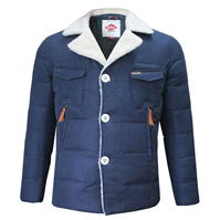 Jacheta Lee Cooper Sherpa Collar pentru Barbati
