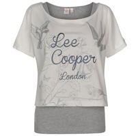 Set Tricou Lee Cooper cu 2 straturi pentru Femei